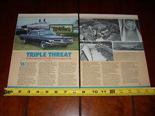 1962 PONTIAC GRAND PRIX - ORIGINAL 1985 ARTICLE