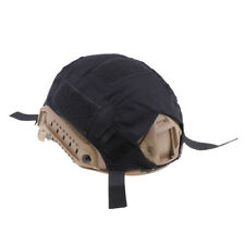 Tactical Hunting FAST Camo Helmet Cover Outdoor Equipment Black