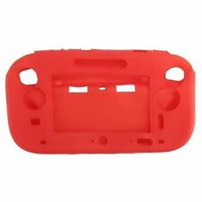 Soft Silicone GEL Case Cover Protection for Wii U Gamepad Red P1q6 U2h4