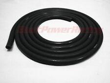 5mm ID Silicone Vacuum Hose Turbo Dump Radiator Silicon Air Hose Pipe BLACK 3 M