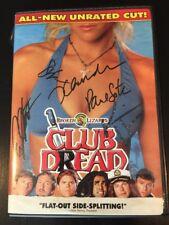 Club Dread Signed DVD Jay Chandrasekhar Autograph Super Troopers Broken Lizard