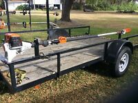WILL ONLY FIT STIHL , These Racks are for STIHL POLESAWS ( NOT WEED EATER )