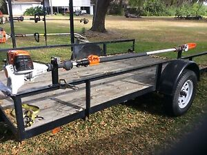 STIHL POLESAW Rack Holder Will Only Fit Stihl Pole Saws ( NOT WEEDEATER )