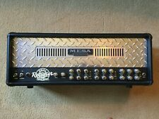 Mesa Boogie Dual Rectifier Solo 100 W Tube Amp Head - Diamond Faceplate