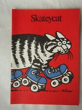 Kliban Cat Skateycat Greeting Cards Blank Box of 12 Cartoon Cat, original box
