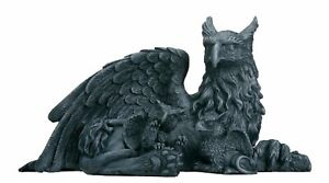 Griffin with Babies Statue Figurine Mythical Fantasy Animal Decoration New