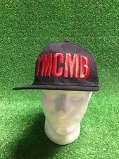 Black YMCMB SnapBack Hat Cap Red Stitching Young Money Rap Flat Bill Free Ship