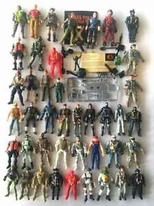 GI Joe Snake Eyes Baroness Mixed Action Figure Cobra Old Weapons Vintage Toy Lot