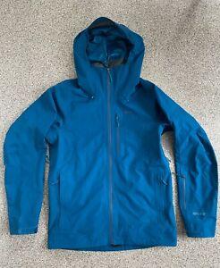 Patagonia Powder Bowl Gore-Tex Ski Shell - Men's Medium -Big Sur Blue