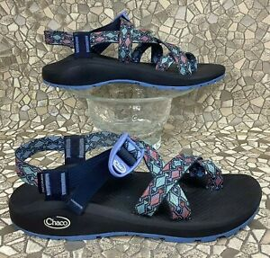 CHACO Z/CLOUD 2 Trace Eclipse River Trail Water Beach Hiking Sandal 40 women's 9