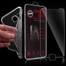 TPU Silikon Schutz hülle Bumper Case Tasche Panzerglas für Samsung Galaxy S6