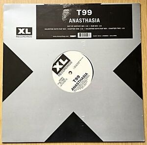 "T99 – Anasthasia 12"" Vinyl Record XL Recordings – XLXV 1512 NEW SEALED HOUSE"