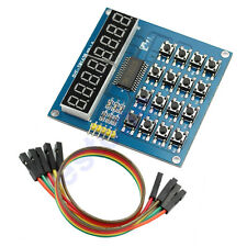 Digital New TM1638 8 Bits Display Module Tube LED Keyboard Scanning