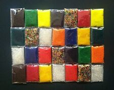 28 Bags (3-4grams/Bag) Water Jelly Crystal Soil Mud Beads & Orbeez Refill Balls