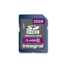 Integral INSDH32G10V1 SDHC Class 10 32GB Memory Card Protective Case Included