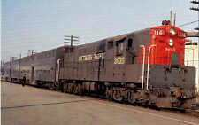 Southern Pacific Fairbanks-Morse H24-66 locomotive railroad train postcard
