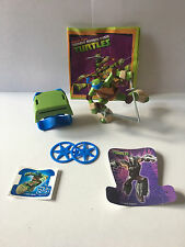 KINDER FERRERO MAXI SURPRISE GRAN SORPRESA 2017 SDD15 NINJA TURTLES TMNT CARTINA