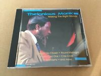 Thelonious MonkPiano Jazz CD Making The Right Moods 2003 KRB Music Companies