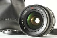 【NEAR MINT】 Contax Carl Zeiss Distagon T* 28mm F2.8 MMJ CY Mount from JAPAN #203