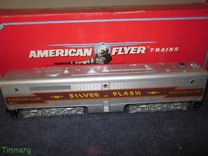 American Flyer 6-48128 Silver Flash Alco PB-1 Non-Powered Dummy B Unit MIB