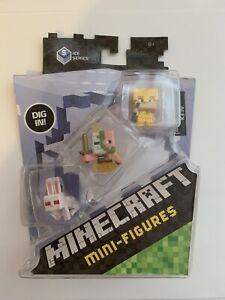 Minecraft mini-figures - Ice Series - Spawning zombie pigman - Alex(Gold)
