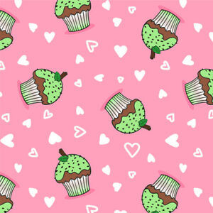 Cupcakes KATE SALE 2 rolls of Gift Wrap Pattern