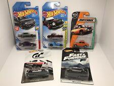 Hot Wheels Lot 7 Nissan 2018 Gran Turismo Skyline GT-R R30 R33 R34 Fairlady 510