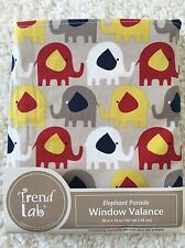 "New Trend Lab Elephant Window Valance 56"" X 15"""