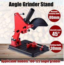 100-125 Angle Grinder Stand Bracket Holder Cutting Stand Power Tools Accessories