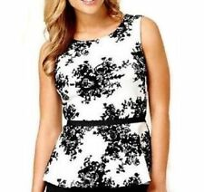 Polyester Peplum Machine Washable Floral Tops & Blouses for Women