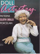 Doll Artistry Magazine Vol. 1 No. 2 Dec 1990 Jan 1991 Hobby House Press