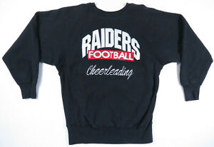 Vintage Las Vegas Oakland Raiders Champion Reverse Weave Crew Neck Sweatshirt XL