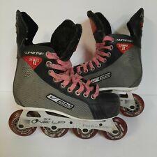 Bauer Supreme Enforcer XR Men's 4.5 R 6 US Inline Roller Hockey Skates Blades