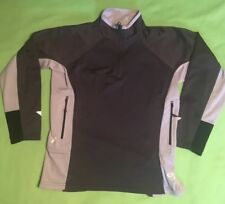 New Mountain Hardwear Ladies Small Black Windstopper Half Zipper Pullover