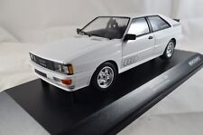 Audi Quattro – 1980 – blanco. 504 PCs... 1:18 metal, Minichamps 155016120