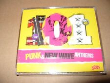 101 Punk & New Wave Anthems  5 cd 2010  NEW (Not Sealed) !
