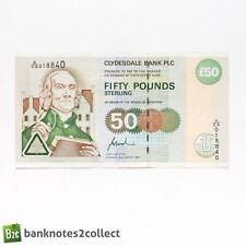 ?‰cosse: 1 x 50 LB (environ 22.68 kg) Clydesdale Bank PLC billet. Daté 22.03.96.