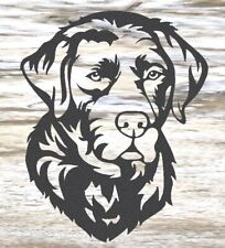 Labrador - Steel Metal Garden Wall Art