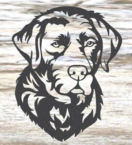 Labrador - Steel Metal Garden Wall Art