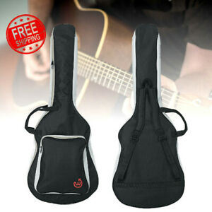 Wayfinder Heavy Duty Padded Acoustic Guitar Case Gig Bag with Backpack Straps