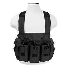 NcSTAR CVAKCR2921B Tactical Chest Rig Vest w/ 3 Double Magazine Pouches - Black