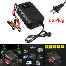 12V 20A Intelligent Automobile Battery Lead Acid Battery Charger Car Motorcycle