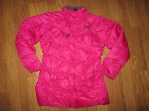 Girls THE NORTH FACE insulated full zip jacket coat L Lg 14 - 16