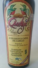 Shampoo Quetzal Helps in the regrowth of hair, Auxiliar en la caida del cabello