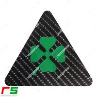 alfa romeo 2 triangoli QUADRIFOGLIO verde ADESIVI carbon mito 147 giulietta 159