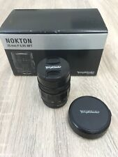 Voigtländer Voigtlander Nokton 25-25mm F/0.95 MF lente para micro cuatro tercios M43