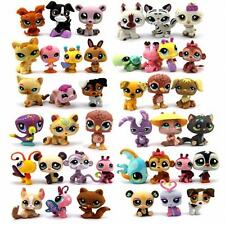 Random Pick Different Lot 5 Pcs Littlest pet shop LPS figure xmas gifts M299