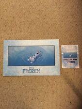 New Disney Fine Art Magical Moments. Frozen. Frozen Things In Summer. 11 X 17.