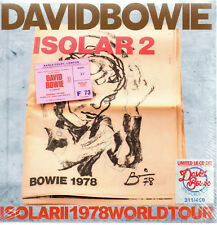 "DAVID BOWIE - ""ISOLAR 2"" 1978 WORLD TOUR - 18CD BOX-SET N°327/450 - NEW & SEALED"