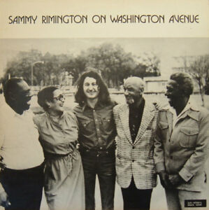 SAMMY RIMINGTON On Washington Avenue Lulu's White/Black Label LP DTS027